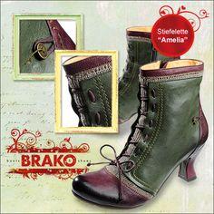 Farb-und Stilberatung mit www.farben-reich.com - Brako Schuhe fallen aus dem Rahmen!