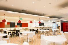Nestle factory cafeteria