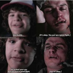 """Dustin's honesty is the best OK but the best part of that scene was when Steve saw Mike and was like """"Nancy?""""  // creds to @castleofbyers"""