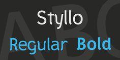 Styllo Font Family · 1001 Fonts