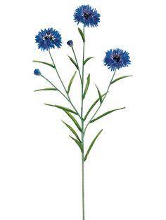 Cornflower | Silk Flower | Afloral.com