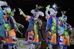 Grupo Mascarada Carnaval: Los Trapasones, las Lady's Chancletas y los Melind...