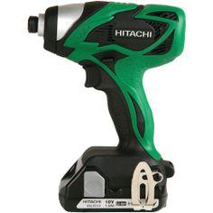 HITACHI - Tools - Hitachi 18-volt Li-ion Impact Driver