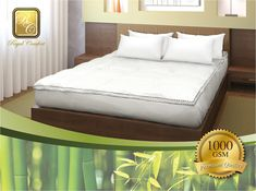 90de768980 Our 1000GSM Luxury Bamboo Toppers with 5cm Gusset will rejuvenate and  transform any mattress for a