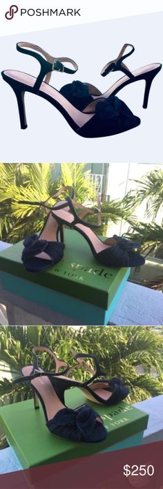 b156eaccd Kate Spade ILYA Indigo Denim Heels 8 Versatile and elegant Kate Spade New  York ILYA Sandals