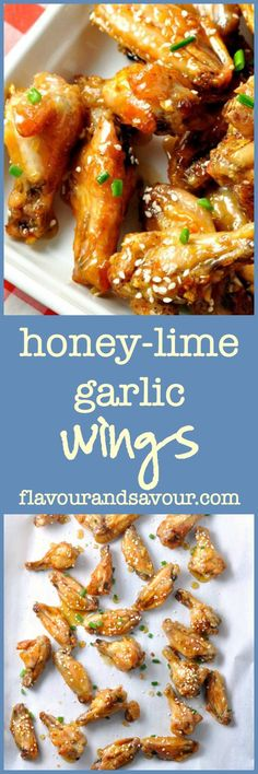 Paleo Honey-Lime Garlic Chicken Wings. Crispy, sweet and tangy. Like crispy chicken wings? Use this method to produce crispy wings without all the fat.