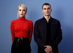 Emma Roberts and Dave Franco have really got some #Nerve. #EWComicCon