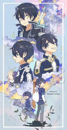 Baby Red Fox, Kingdom Hearts Anime, Kirito Sao, Sao Anime, Sword Art Online Kirito, Anime Episodes, Anime Crossover, Cute Little Baby, Tumblr Wallpaper