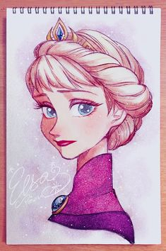 19 Trendy Ideas For Drawing Disney Princesses Tutorial Cartoon Disney Character Drawings, Disney Drawings Sketches, Frozen Drawings, Cute Disney Drawings, Girl Drawing Sketches, Art Drawings Sketches Simple, Cartoon Drawings, Cartoon Art, Cute Drawings