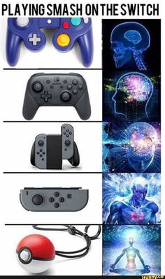 Nintendo Switch with Neon Blue and Neon Red Joy-Con - Nintendo Switch Games - Trending Nintendo Switch Games - Picture memes by MrDededee: 3 comments iFunny Switch Nintendo Switch Nintendo for sales nintendo smash switch iFunny Really Funny Memes, Stupid Funny Memes, Funny Relatable Memes, Funny Vid, Hilarious, Brain Meme, Video Game Memes, Video Games, Nintendo Super Smash Bros