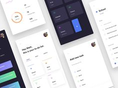 The best website design inspiration on Dribbble — Weekly curated UI, UX and web design inspiration We curate the best shots, you stay inspired. Mobile Ui Design, Web Ui Design, To Do App, Android Ui, Ios, Ui Ux, App Ui, Website Design Inspiration, Profile Design
