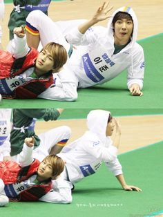Cute lee joon and onew