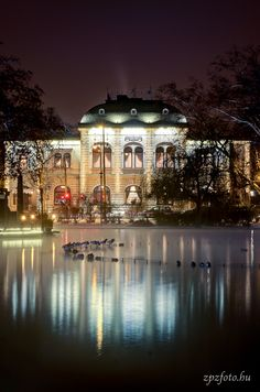 The famous traditional Gundel Restaurant, City Park, Budapest Budapest Nightlife, Budapest City, Places Around The World, Around The Worlds, Budapest Travel Guide, Capital Of Hungary, Grand Budapest, Heart Of Europe, Beautiful Places To Visit