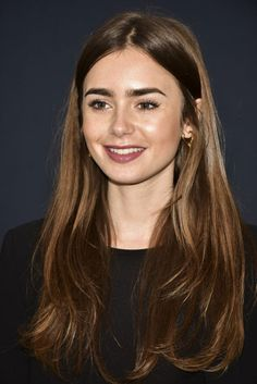 Lily Collins & Jamie Chung Reunite at Academy Nicholl Fellowships in Screenwriting Awards!: Photo Lily Collins and Jamie Chung reunite for the first time in years at the Academy Nicholl Fellowships in Screenwriting Awards and Live Read! The To… Lily Collins Eyebrows, Lily Collins Hair, Lily Collins Style, Lilly Collins Makeup, Lily Collins Casual, Long Face Hairstyles, Trending Hairstyles, Spring Hairstyles, Men's Hairstyle