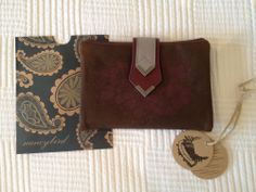 New Nancybird Chocolate Coloured Leather Wallet - New With Tags- Never Used Landscaping Software, Chocolate Color, Leather Wallet, Wallets, House Design, Tags, Stuff To Buy, Ebay, Shopping