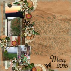 Kit used - An Evening in Tuscany by Aimee Harrison Design Studio.  Template - Strip It #4 by Heartstrings Scrap Art.
