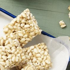 Make with puffed rice AND puffed quinoa for extra yummy protein - I Quit Sugar+LCM Bars