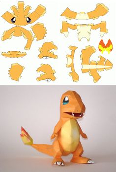papercraft pokemon - Recherche Google (Diy Art Paper)