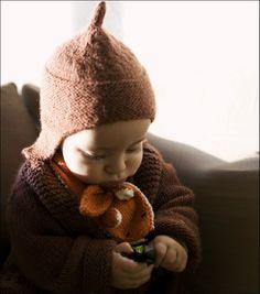 cute crocheted fox scarf