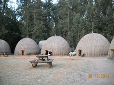Bee Hive Huts - AFS group Swaziland