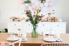 DIY 75 - Table Festive - Skylantern - I do it myself Deco Table, Diy And Crafts, Table Decorations, Super Simple, Festive, Brunch, Inspiration, Furniture, Home Decor