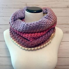 A personal favorite from my Etsy shop https://www.etsy.com/listing/542543838/bean-stitch-cowl-crochet-cowl-crochet