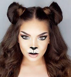 🦁🦁 _ _ _ @desiperkins @maneaddicts #courage #lion #wizardofoz #wizardofozcostume #lionmakeup #lioncostume #Halloween #Halloweenmakeup…