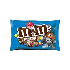 M&M'S Pretzel Chocolate Candy Bag, 15.4 oz Walmart.com ❤ liked on Polyvore featuring food and filler