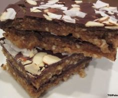 Magic Bars Recipe | Paleo inspired, real food