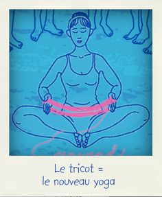 Maman Yoga et tricot