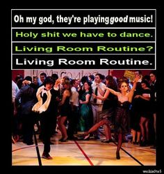 The Perks of Being A Wallflower  I will do the Living Room Routine!