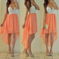 Vokuhila clothes You can achieve a great visual effect with a successful eye-catcher if you are look Cute Fashion, Teen Fashion, Fashion Beauty, Fashion Outfits, Fashion Trends, Dress Fashion, Fashion Clothes, Coral Fashion, Hipster Outfits