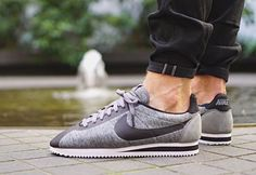 Nike Cortez Classic Tech Fleece Grey & Black