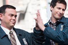 Detectives Jake Peralta and Charles Boyle are known as the best of friends on Brooklyn Nine-Nine . But there is an imbalance in their relati. Brooklyn Nine Nine Funny, Brooklyn 9 9, Brooklyn 99 Characters, Movies Showing, Movies And Tv Shows, Series Movies, Tv Series, Charles Boyle, Jake And Amy