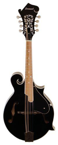 Savannah SF-100-BK F-Model Mandolin, Black by Savannah. $299.99. A well-built F-Model mandolin at this price range is truly unheard of.  Our F-Model mandolin will appeal to a whole new group of players with its excellent construction, fittings, and sound.  Features include a spruce top, nickel tuning machines and an inlaid headstock.
