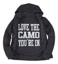 ABSOLUTELY NEED THIS!! Bass Pro Shops Love Camo Hooded Sweatshirt for Ladies - Long Sleeve   Bass Pro Shops