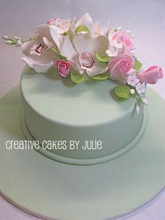 Sugar flower cake | Flickr - Photo Sharing!