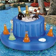 Ideas for adult pool parties.