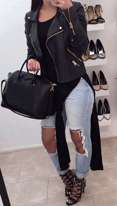 20 Tips for Who Want To Wear Business Casual Jeans Women Fashion Mode, Fashion Killa, Look Fashion, Womens Fashion, Fashion Trends, Fashion 2015, Fashion News, Fall Fashion, Dope Outfits