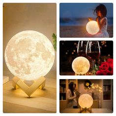Moon Lamp Store is a certified supplier of the original moon night light lamp. Buy printed moon night lamp and get off on your first order. Moon Light Lamp, Night Lamps, Girls Bedroom, Night Light, Led, The Originals, Prints, Home Decor, Gift