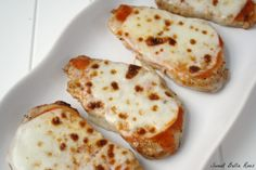Hi, my name is Emily and I am addicted to buffalo wing sauce. (I especially love it with pizza!) These buffalo style mozzarella pork chops just might be my new favorite way to use wing