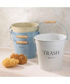 White 'Trash' Can