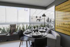 PLANIK_Cardeal : Salas de jantar modernas por Claudia Albertini & Chris Silveira Arquitetos