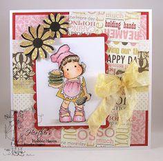 Heather's Hobbie Haven: Burger Tilda Card Kit...