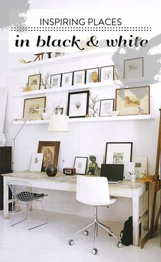 I like the styling of this homeoffice.