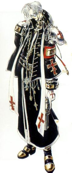 Trinity Blood -- Abel Nightroad Cosplay Costume :: Trinity Blood :: Cosplay Costumes :: Costumes :: COSPLAY HOUSE