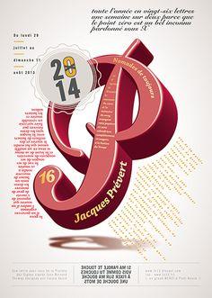 Abécédaire : illustration typographique de poèmes : P