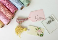 tassel bookmark tutorial