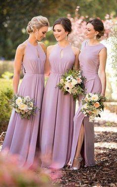 8956 Trendy High-Neck Bridesmaid Dress by Sorella Vita