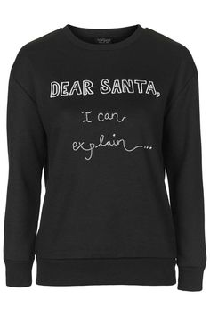 This more naughty, less nice Christmas jumper is brilliant.